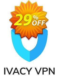Ivacy VPN - 1 year  Coupon, discount 29% OFF Ivacy VPN (1 year) Feb 2020. Promotion: Staggering promo code of Ivacy VPN (1 year), tested in February 2020