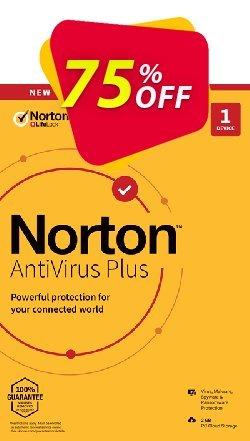 Norton AntiVirus Plus Coupon, discount 75% OFF Norton AntiVirus Plus, verified. Promotion: Formidable deals code of Norton AntiVirus Plus, tested & approved