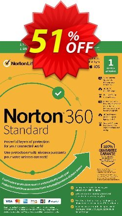 Norton 360 Standard Coupon, discount 50% OFF Norton 360 Standard, verified. Promotion: Formidable deals code of Norton 360 Standard, tested & approved
