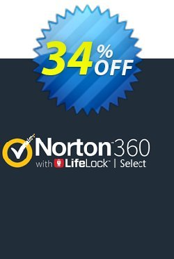 Norton 360 with LifeLock Select Coupon, discount 34% OFF Norton 360 with LifeLock Select, verified. Promotion: Formidable deals code of Norton 360 with LifeLock Select, tested & approved