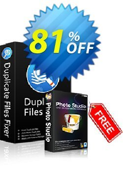 Duplicate Files Fixer Coupon, discount 50% OFF Duplicate Files Fixer, verified. Promotion: Fearsome offer code of Duplicate Files Fixer, tested & approved