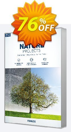 NATURE projects Coupon, discount 15% OFF NATURE projects, verified. Promotion: Awful sales code of NATURE projects, tested & approved