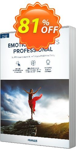 EMOTION projects Coupon, discount 15% OFF EMOTION projects, verified. Promotion: Awful sales code of EMOTION projects, tested & approved