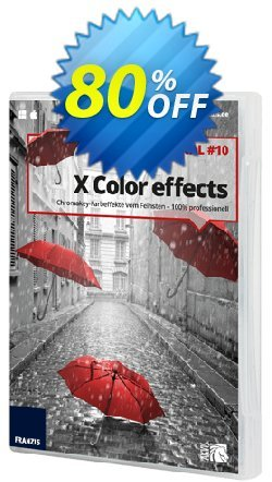 X Color Effects Pro 10 Coupon, discount 15% OFF X Color Effects Pro 10, verified. Promotion: Awful sales code of X Color Effects Pro 10, tested & approved