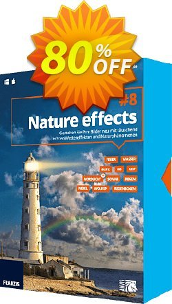 Nature effects 8 Coupon, discount 15% OFF Nature effects 8, verified. Promotion: Awful sales code of Nature effects 8, tested & approved