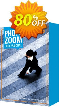 PhotoZoom 6 Professional Coupon, discount 85% OFF PhotoZoom 6 Professional, verified. Promotion: Awful sales code of PhotoZoom 6 Professional, tested & approved