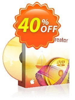 DVDFab DVD Creator for MAC - 1 year License  Coupon discount 50% OFF DVDFab DVD Creator for MAC (1 year License), verified - Special sales code of DVDFab DVD Creator for MAC (1 year License), tested & approved