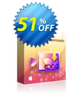 DVDFab Video Downloader for MAC Coupon discount 50% OFF DVDFab Video Downloader for MAC, verified - Special sales code of DVDFab Video Downloader for MAC, tested & approved