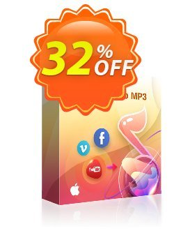 StreamFab YouTube to MP3 for MAC Coupon, discount 30% OFF StreamFab YouTube to MP3 for MAC, verified. Promotion: Special sales code of StreamFab YouTube to MP3 for MAC, tested & approved
