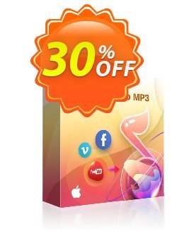 StreamFab YouTube to MP3 for MAC - 1 Month  Coupon, discount 30% OFF StreamFab YouTube to MP3 (1 Month License), verified. Promotion: Special sales code of StreamFab YouTube to MP3 (1 Month License), tested & approved