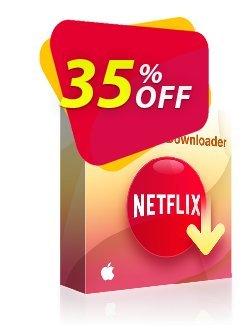 StreamFab Netflix Downloader for MAC - 1 Year  Coupon discount 35% OFF DVDFab Netflix Downloader for MAC 1 Year, verified - Special sales code of DVDFab Netflix Downloader for MAC 1 Year, tested & approved