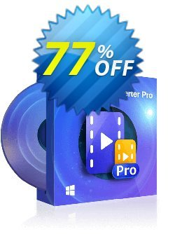 DVDFab Video Converter PRO Coupon discount 77% OFF DVDFab Video Converter PRO, verified. Promotion: Special sales code of DVDFab Video Converter PRO, tested & approved