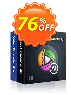 DVDFab Video Converter Pro + Video Enhancer AI Coupon discount 76% OFF DVDFab Video Converter Pro + Video Enhancer AI, verified - Special sales code of DVDFab Video Converter Pro + Video Enhancer AI, tested & approved