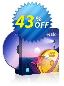 DVDFab DVD Creator - 1 month license  Coupon discount 50% OFF DVDFab DVD Creator (1 month license), verified - Special sales code of DVDFab DVD Creator (1 month license), tested & approved