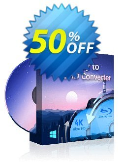 DVDFab Blu-ray to UHD Converter Coupon discount 50% OFF DVDFab Blu-ray to UHD Converter, verified - Special sales code of DVDFab Blu-ray to UHD Converter, tested & approved