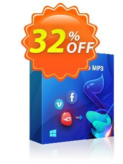 StreamFab YouTube to MP3 Coupon, discount 40% OFF DVDFab Netflix Downloader, verified. Promotion: Special sales code of DVDFab Netflix Downloader, tested & approved