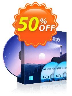 DVDFab UHD Copy Coupon discount 50% OFF DVDFab UHD Copy, verified. Promotion: Special sales code of DVDFab UHD Copy, tested & approved