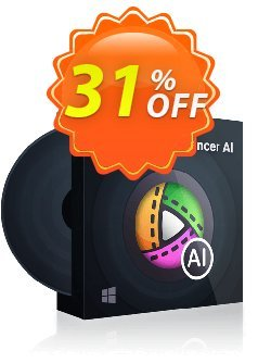 DVDFab Video Enhancer AI - 1 month License  Coupon discount 30% OFF DVDFab Video Enhancer AI (1 month License), verified. Promotion: Special sales code of DVDFab Video Enhancer AI (1 month License), tested & approved
