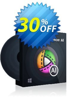 DVDFab Video Enhancer AI - 1 year license  Coupon discount 30% OFF DVDFab Video Enhancer AI (1 year), verified - Special sales code of DVDFab Video Enhancer AI (1 year), tested & approved