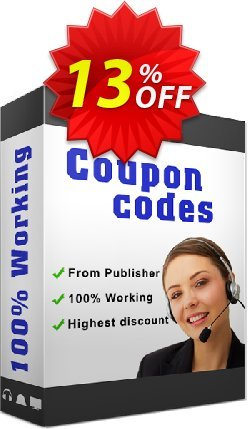 MID2MP3 2.x Coupon, discount BatchConverter coupon promoiton (10948). Promotion: 60off