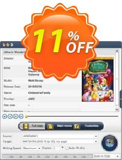 Xilisoft DVD Copy for Mac Coupon, discount Xilisoft DVD Copy for Mac dreaded promo code 2019. Promotion: Discount for Xilisoft coupon code