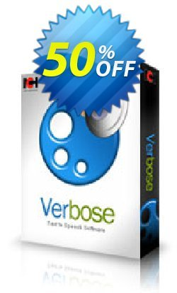 Verbose Text to Speech Software Coupon, discount NCH coupon discount 11540. Promotion: Save around 30% off the normal price