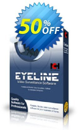 Eyeline Video Surveillance Software - Single Camera Coupon, discount NCH coupon discount 11540. Promotion: Save around 30% off the normal price