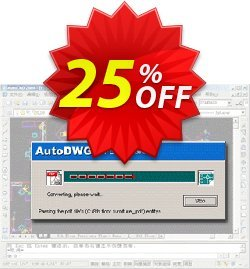 AutoDWG DWG to PDF Converter Pro Coupon, discount 25% AutoDWG (12005). Promotion: 10% Discount from AutoDWG (12005)