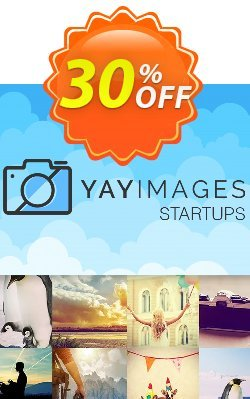 Yay Images Startups Solo Plan Coupon discount 30% OFF Yay Images Startups Solo Plan, verified - Impressive deals code of Yay Images Startups Solo Plan, tested & approved