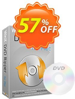 WinX DVD Ripper for Mac Coupon, discount Special Offer for softwarediscounts. Promotion: 50% off for WinX DVD Ripper for Mac, DRP, DELUXE, DCP, DRM, MC