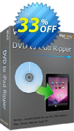 WinX DVD to iPad Ripper Coupon discount WinX DVD to iPad Ripper staggering discounts code 2020 - staggering discounts code of WinX DVD to iPad Ripper 2020