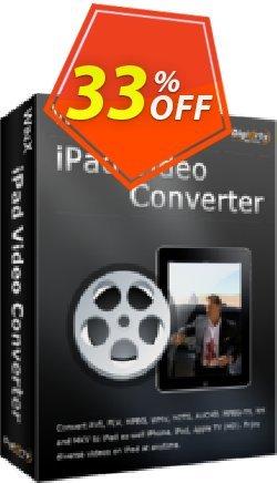 WinX iPad Video Converter Coupon, discount WinX iPad Video Converter awful offer code 2020. Promotion: awful offer code of WinX iPad Video Converter 2020