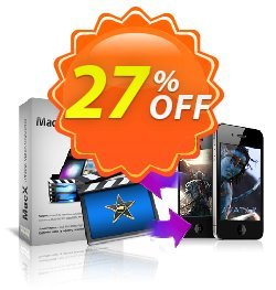MacX iPhone Video Converter Coupon, discount MacX iPhone Video Converter excellent sales code 2021. Promotion: excellent sales code of MacX iPhone Video Converter 2021