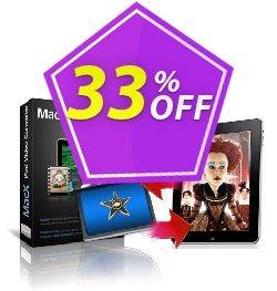 MacX iPad Video Converter Coupon, discount MacX iPad Video Converter marvelous deals code 2021. Promotion: marvelous deals code of MacX iPad Video Converter 2021