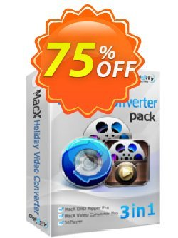 MacX Holiday Gift Pack Coupon, discount 特価セット割引. Promotion: big offer code of MacX Holiday Gift Pack 2020