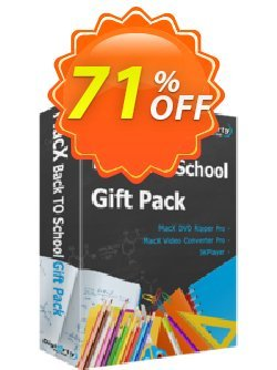 MacX Back-to-School Gift Pack Coupon, discount Special Pack - 2021 Back to School. Promotion: Big deals code of MacX Back-to-School Gift Pack 2021