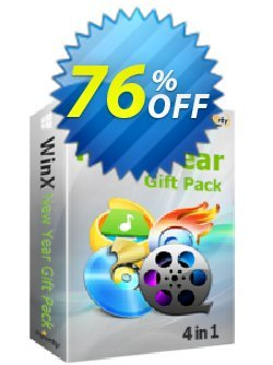 WinX New Year Special Gift Pack Coupon, discount 76% OFF WinX New Year Special Gift Pack, verified. Promotion: Exclusive promo code of WinX New Year Special Gift Pack, tested & approved