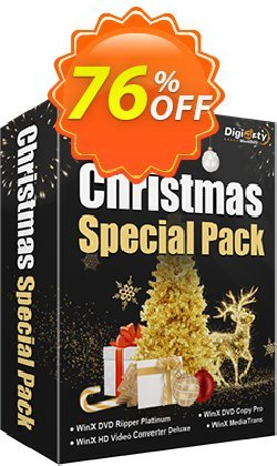 WinX Christmas Special Pack | for 1 PC Coupon, discount New Year Promo. Promotion: Best promotions code of WinX Christmas Special Pack | for 1 PC 2021
