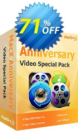 MacX Anniversary Special Pack Coupon, discount 71% OFF MacX Anniversary Special Pack, verified. Promotion: Exclusive promo code of MacX Anniversary Special Pack, tested & approved
