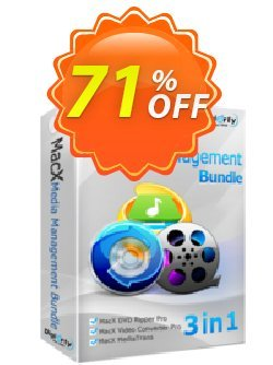 MacX Media Management Suite Coupon, discount . Promotion:  MacX Media Management Suite discount promo MMBDAFFNEW70
