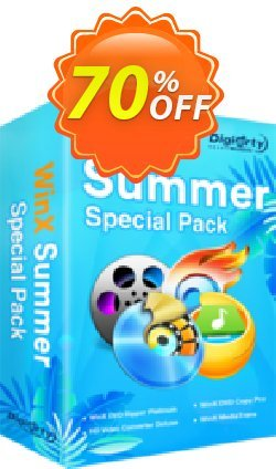 WinX Summer Video Special Pack | for 1 PC Coupon, discount 2021 B2S Pack. Promotion: hottest discount code of WinX Summer Video Special Pack | for 1 PC 2021