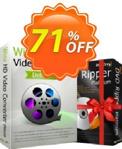 WinX HD Video Converter Deluxe - Lifetime  Coupon discount New Year Promo - Exclusive promo code of WinX HD Video Converter Deluxe (Lifetime), tested in December 2020