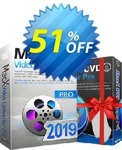 MacX Video Converter Pro Coupon, discount MacX 30% Off. Promotion: MacX video converter  Pro coupon code VCPAFFNEW50