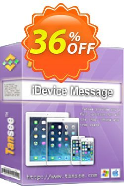 Tansee iOS Message Transfer - 3-years  Coupon discount Tansee discount codes 13181. Promotion: 13181-3