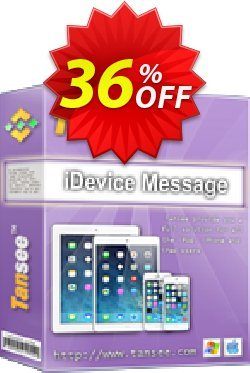 Tansee iOS Message Transfer for Mac - 3-years  Coupon discount Tansee discount codes 13181. Promotion: 13181-3