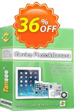Tansee iOS Photo & Camera Transfer Coupon, discount Tansee discount codes 13181. Promotion: 13181-3