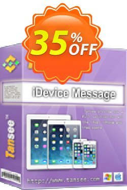 Tansee iOS Message&Contact Transfer - 3-years  Coupon discount Tansee discount codes 13181. Promotion: 13181-3