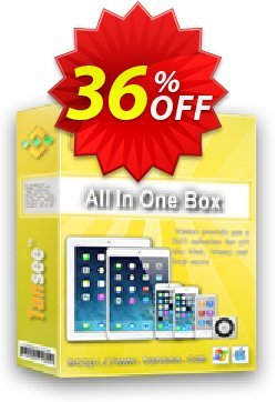 Tansee All in One Box - 3 years Coupon, discount Tansee discount codes 13181. Promotion: 13181-3