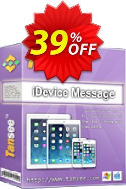Tansee iOS Message Transfer - 1 year  Coupon discount Tansee discount codes 13181 - Tansee discount coupon (13181)