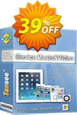 Tansee iOS Music & Video Transfer - 1 year Coupon, discount Tansee discount codes 13181. Promotion: Tansee discount coupon (13181)